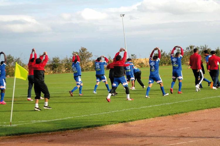 Football training camps Morocco 2